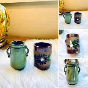🦋2/$10 3/$15 4/$18 5/$20 Vintage Collector Mini Pottery Set